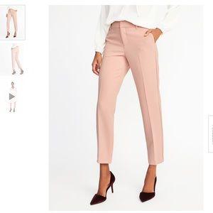 Blush Pink Above Ankle Dress Pants